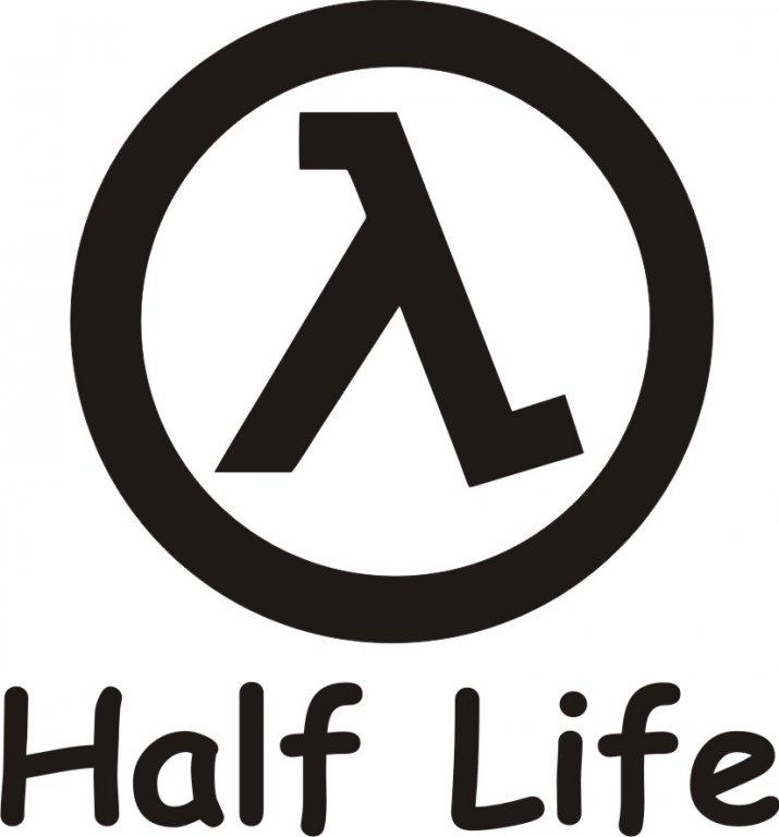 наклейка half life