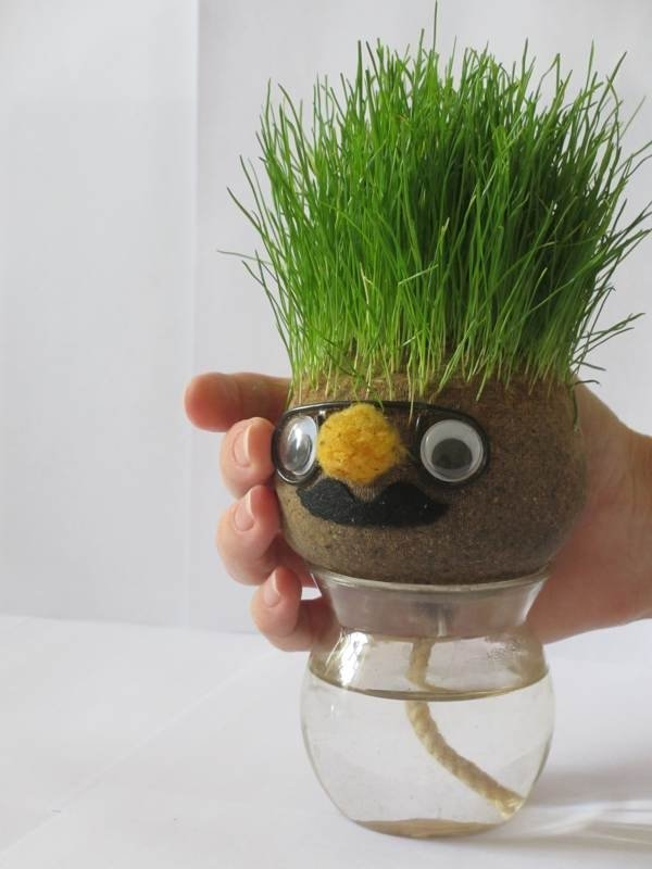 Как сделать в травянчик