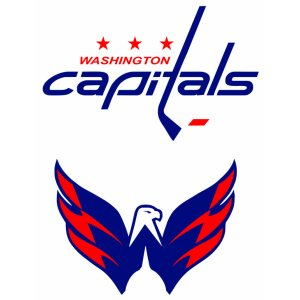 "Наклейка на авто ""Washington capitals logo. Хоккей"""