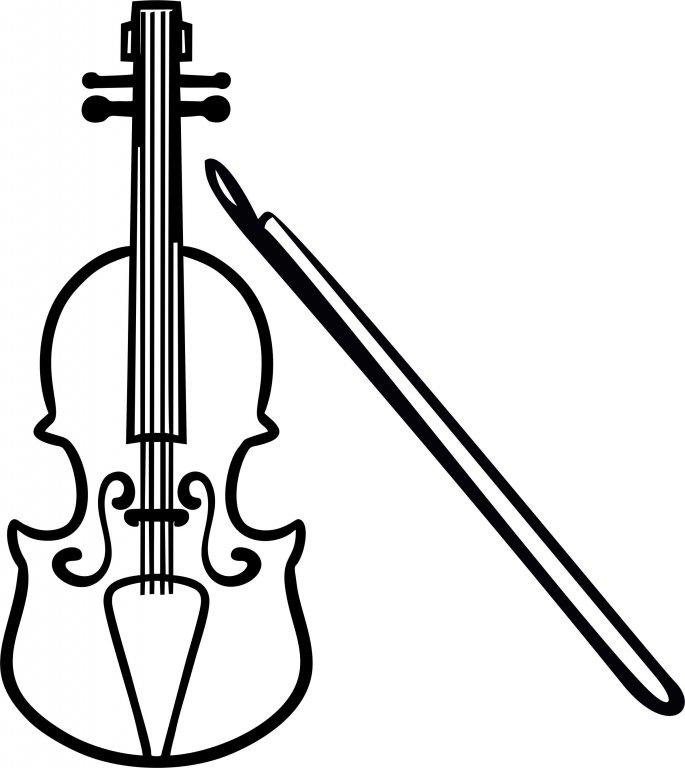 Католическим, картинки скрипки для срисовки