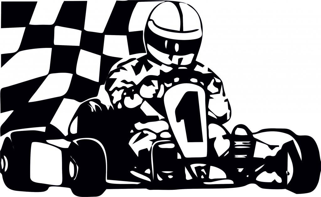 Картинки, открытка для гонщика