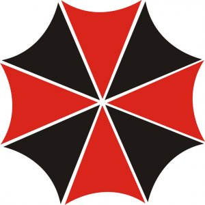 "Наклейка на авто ""Umbrella corporation"""