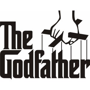 "Наклейка на авто ""THE GODFATHER"""