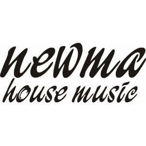 "Наклейка на авто ""Newma House Music"""
