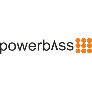 "Наклейка на авто ""Powerbass"""