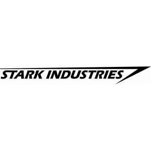 "Наклейка на авто ""Stark Industries"""