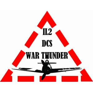 "Наклейка на авто ""Il2 War Thunder, самолет ИЛ-2, Ваш цвет"""