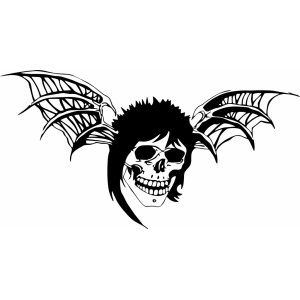 "Наклейка на авто ""Avenged Sevenfold Logo"""