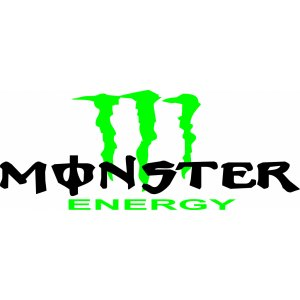 "Наклейка на авто ""Monster Energy версия 3"""