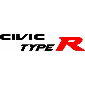 "Наклейка на авто ""Civic Type R. Honda версия 1"""