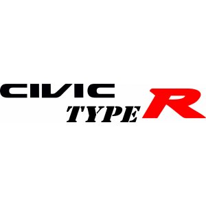 "Наклейка на авто ""Civic Type R. Honda версия 2"""