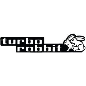 "Наклейка на авто ""Turbo Rabbit"""