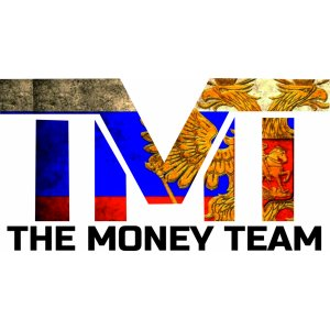 "Наклейка на авто ""TMT logo. The Money team"""