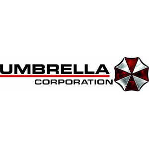 "Наклейка на авто ""Umbrella corporation версия 3"""