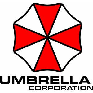 "Наклейка на авто ""Umbrella corporation версия 9. Зонтик"""