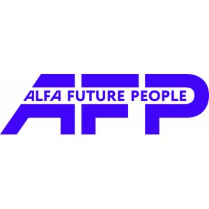 "Наклейка на авто ""Alfa future people версия 3"""