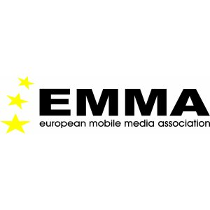 "Наклейка на авто ""EMMA European Mobile Media Association"""