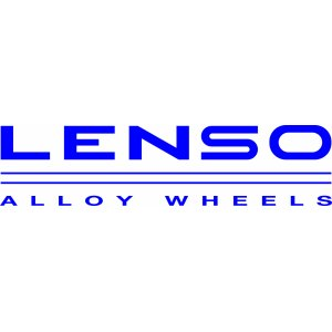 "Наклейка на авто ""Lenso alloy wheels. Версия 1"""