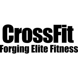 "Наклейка на авто ""CrossFit Forging Elite Fitness"""