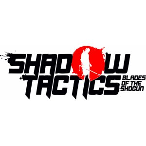 "Наклейка на авто ""Shadow Tactics game версия 2 в два цвета"""