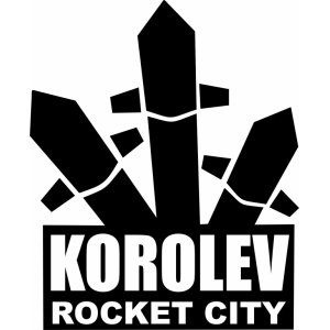 "Наклейка на авто ""KOROLEV ROCKET CITY"""