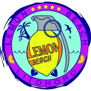 "Наклейка на авто ""Lemon beach logo"""