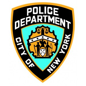 "Наклейка на авто ""Police department. City of New York"""