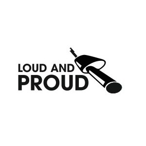 "Наклейка на авто ""Loud and Proud"""