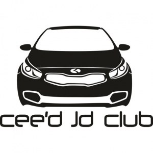 Наклейка на авто Kia Ceed Jd Club